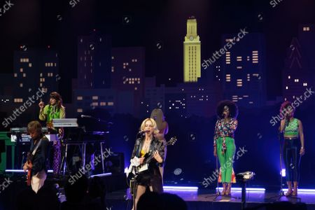 Editorial image of St. Vincent Austin City Limits taping at ACL Live, Moody Theater, Austin, Texas, USA - 30 Sep 2021