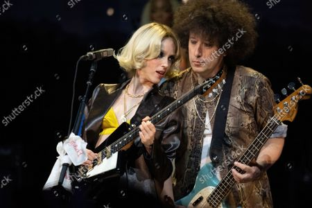 Stock Photo of St Vincent performs during an Austin City Limits taping at ACL Live at the Moody Theater