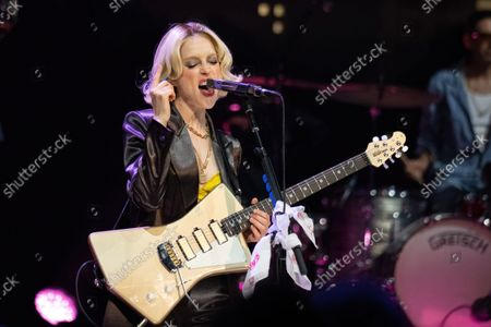St Vincent performs during an Austin City Limits taping at ACL Live at the Moody Theater