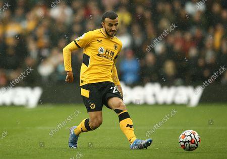 Stock Photo of Romain Saiss of Wolverhampton Wanderers
