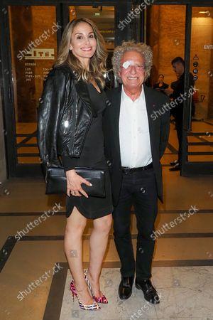 Laurent Dassault and his girlfriend Mayassa Dardari at the launch of CR Fashion Book Parade Issue