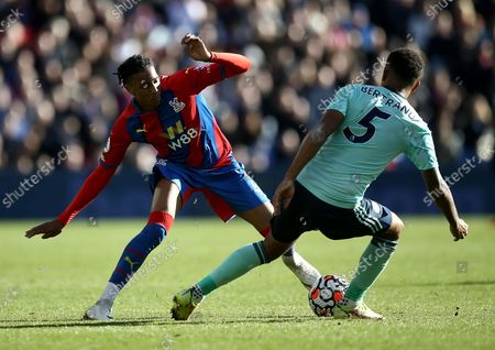 Editorial picture of Crystal Palace v Leicester City, Premier League, Football, Selhurst Park, London, UK - 03 Oct 2021