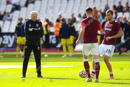 Editorial photo of West Ham United v Brentford, Premier League, Football, The London Stadium, London, UK - 03 Oct 2021
