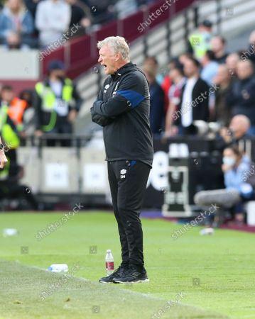 Stock Image of David Moyes - Manager of West Ham