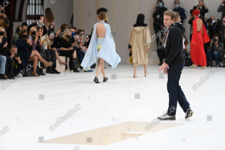 Editorial picture of Loewe show, Runway, Spring Summer 2022, Paris Fashion Week, France - 01 Oct 2021