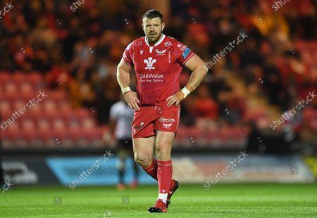 Rob Evans of Scarlets.