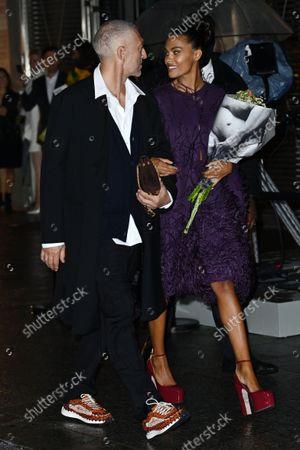 Vincent Cassel and Tina Kunakey di Vita