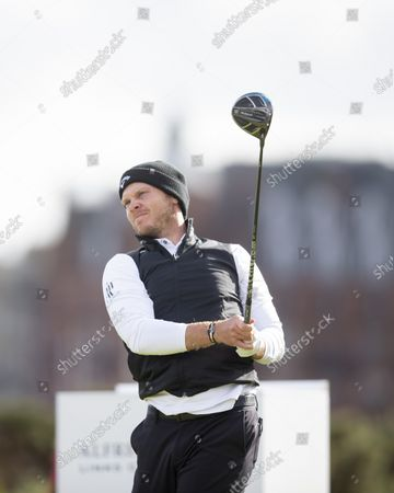 Danny Willett of England during the final round of the Alfred Dunhill Links Championship on the Old Course, St Andrews; The Old Course, St Andrews Links, Fife, Scotland; European Tour, Alfred Dunhill Links Championship, Fourth round.