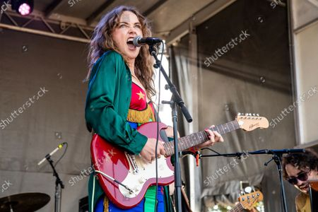 Zella Day performs on day one of the Austin City Limits Music Festival's first weekend, in Austin, Texas