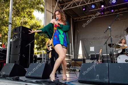 Stock Picture of Zella Day performs on day one of the Austin City Limits Music Festival's first weekend, in Austin, Texas