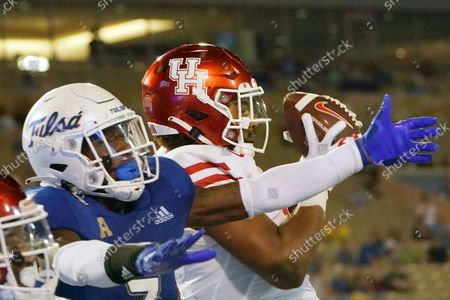 Editorial picture of Houston Football, Tulsa, United States - 01 Oct 2021