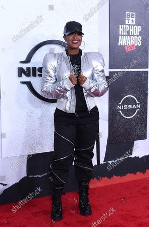 Editorial photo of BET Hip Hop Awards, Arrivals, Atlanta, Georgia, USA - 01 Oct 2021