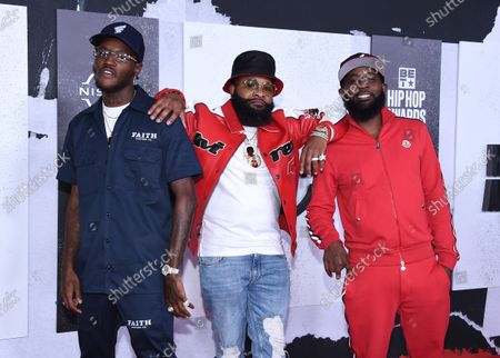 Stock Photo of D.C. Young Fly, Chico Bean and Karlous Miller