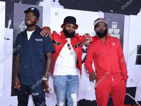 Editorial image of BET Hip Hop Awards, Arrivals, Atlanta, Georgia, USA - 01 Oct 2021