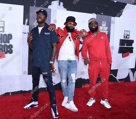 Stock Picture of D.C. Young Fly, Chico Bean and Karlous Miller