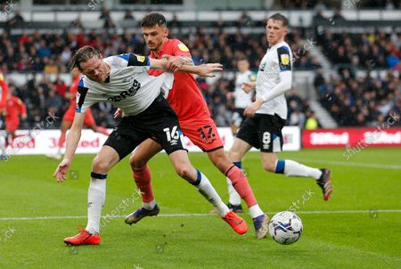 Editorial image of Derby County v Swansea City - Sky Bet Championship - 02 Oct 2021