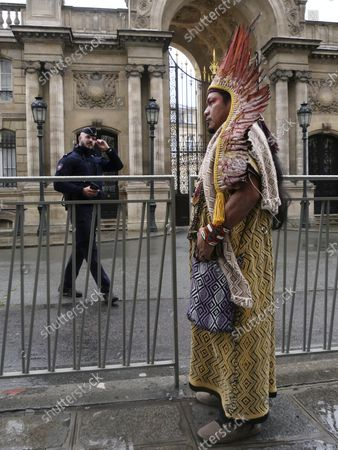 Editorial picture of Brazil Amazon, Paris, France - 02 Oct 2021