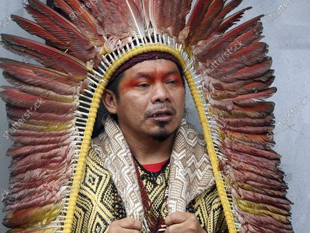 Editorial photo of Brazil Amazon, Paris, France - 02 Oct 2021