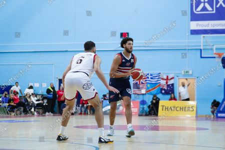 Stock Image of Zach Simmons of Bristol Flyers- Mandatory by-line: Will Cooper/JMP