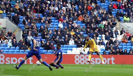 Editorial image of Cardiff City v Reading FC - EFL Sky Bet Championship 21/22, Football, Cardiff City Stadium, Cardiff, WALES, UK. 2 OCT 2021