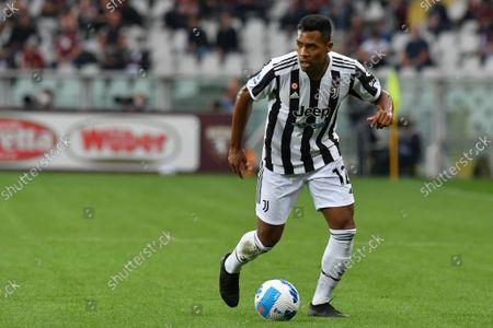Alex Sandro of Juventus FC in action