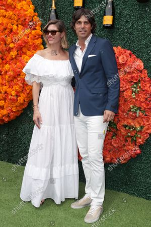 Stock Image of Delfina Blaquier and Nacho Figueras