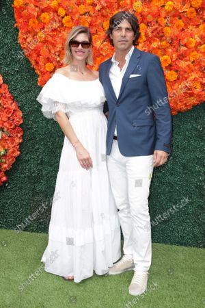 Stock Picture of Delfina Blaquier and Nacho Figueras