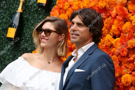 Stock Photo of Delfina Blaquier and Nacho Figueras