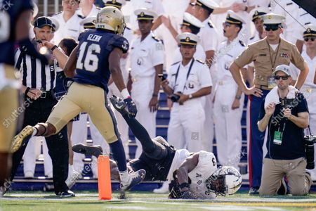 Editorial picture of UCF Navy Football, Annapolis, United States - 02 Oct 2021