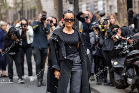 Editorial photo of Street Style, Spring Summer 2022, Paris Fashion Week, France - 01 Oct 2021