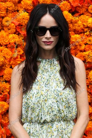 PACIFIC PALISADES, LOS ANGELES, CALIFORNIA, USA - OCTOBER 02: Actress Abigail Spencer arrives at the Veuve Clicquot Polo Classic Los Angeles 2021 held at the Will Rogers State Historic Park on October 2, 2021 in Pacific Palisades, Los Angeles, California, United States.
