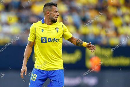 Stock Picture of Alvaro Negredo of Cadiz CF