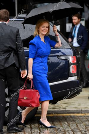 Liz Truss, Foreign Secretary, at the Tory party conference