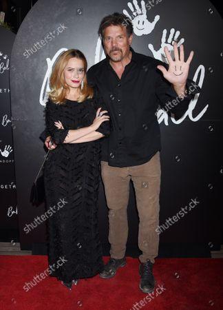 Stock Image of Bethany Joy Lenz and Paul Johansson