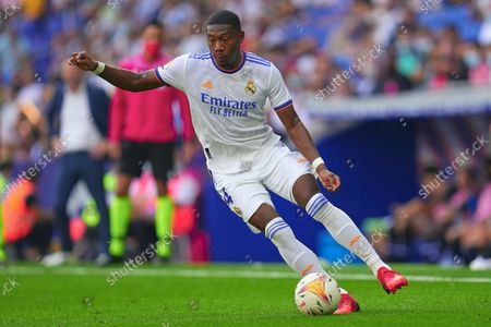Stock Image of David Alaba of Real Madrid