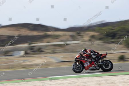 Stock Picture of ALGARVE INTERNATIONAL CIRCUIT, PORTUGAL - OCTOBER 03: Scott Redding, Aruba.It Racing - Ducati at Algarve International Circuit on Sunday October 03, 2021 in Portimao, Portugal. (Photo by Gold and Goose / LAT Images)