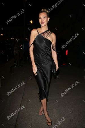 Editorial photo of Karlie Kloss arrives at the Ritz hotel, Paris Fashion Week, France - 03 Oct 2021