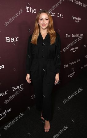 "Chloe Lukasiak attends Amazon Studios ""The Tender Bar"" Los Angeles Screening"