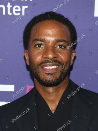 """Actor Andre Holland attends a special screening of """"Passing"""" at Alice Tully Hall during the 59th New York Film Festival, in New York"""