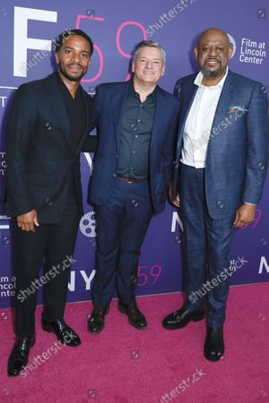 Andre Holland, Ted Sarandos, Chief Executive Officer of Netflix and Forest Whitaker