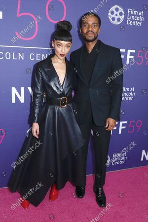 Ruth Negga and Andre Holland