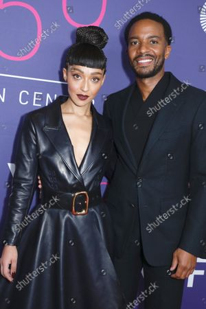 Stock Picture of Ruth Negga and Andre Holland