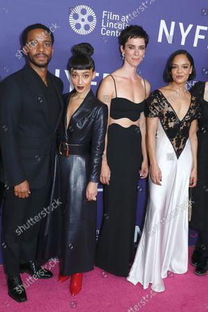 Andre Holland, Ruth Negga, Rebecca Hall and Tessa Thompson