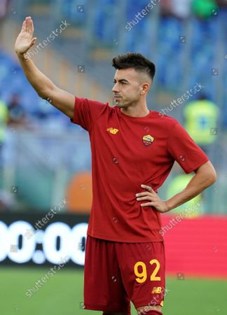 Stephan El Shaarawy of As Roma during the Serie A match between As Roma and Empoli Fc on  October 03, 2021 stadium Olimpico in Roma, Italy