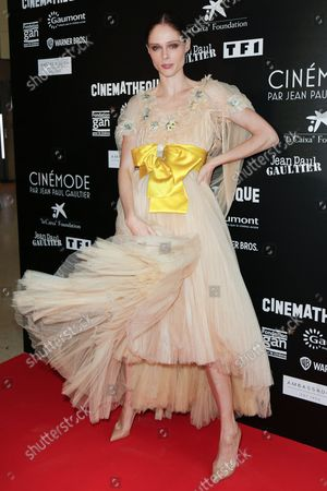 Editorial picture of Jean-Paul Gaultier's Cinemode Exhibition photocall, Spring Summer 2022, Paris Fashion Week, France - 03 Oct 2021
