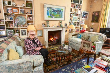 Editorial photo of 'My Haven' Lady Antonia Fraser photoshoot, UK - 03 Mar 2021