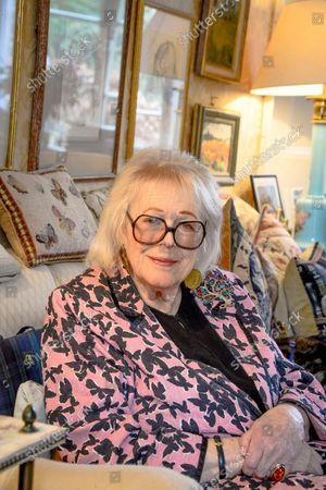 Editorial image of 'My Haven' Lady Antonia Fraser photoshoot, UK - 03 Mar 2021