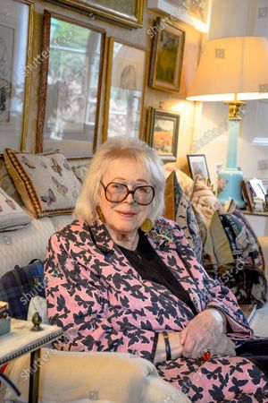 Stock Image of Lady Antonia Fraser 'My Haven' - Drawing Room