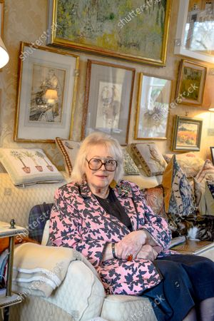 Stock Picture of Lady Antonia Fraser 'My Haven' - Drawing Room