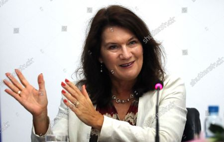 Editorial image of Sweden Minister of Foreign Affairs Ann Linde visits Bosnia, Sarajevo, Bosnia And Herzegovina - 04 Oct 2021